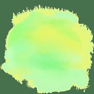 水彩渲染色块装饰元素贴纸2