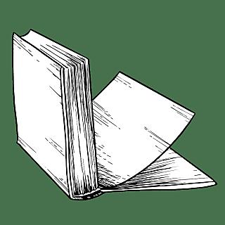 手绘-学习用品图书素描贴纸-SVG6