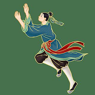 金边中国风七夕节元素贴纸8