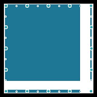 手绘-星光可爱边框6