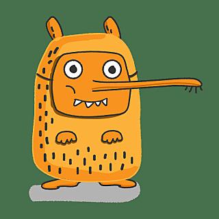 SVG-手绘-怪兽贴纸3