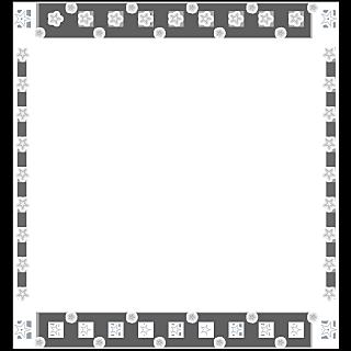 手绘-星光可爱边框1