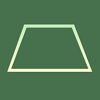 手绘-基础图形边框渐变-梯形