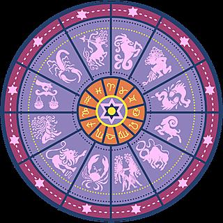 手绘-星座星盘常规贴纸9