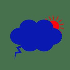 SVG-扁平单色对话气泡贴纸
