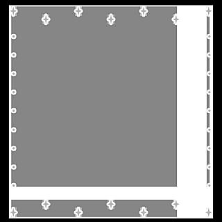 手绘-星光可爱边框3