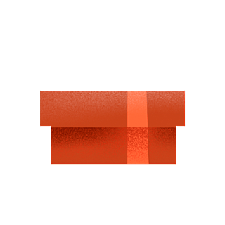 手绘风-生日元素-礼盒