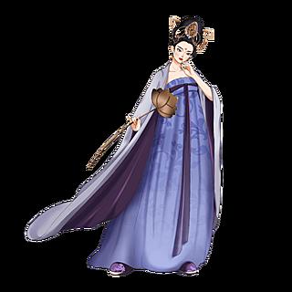 中国风-手绘人物插画-古风女性