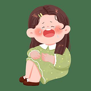 手绘-儿童人物元素