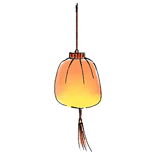 水墨画-水墨-中秋节节日元素贴纸7