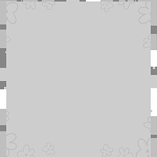 手绘-简笔画边框-花朵