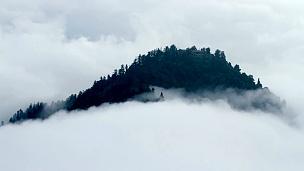 峨眉山延时摄影景观