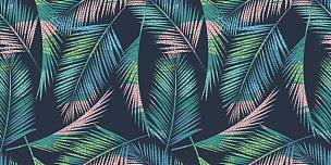 式样,热带气候,热带的花,夏天,绿色,纺织品,创造力,时髦的,时尚,复古