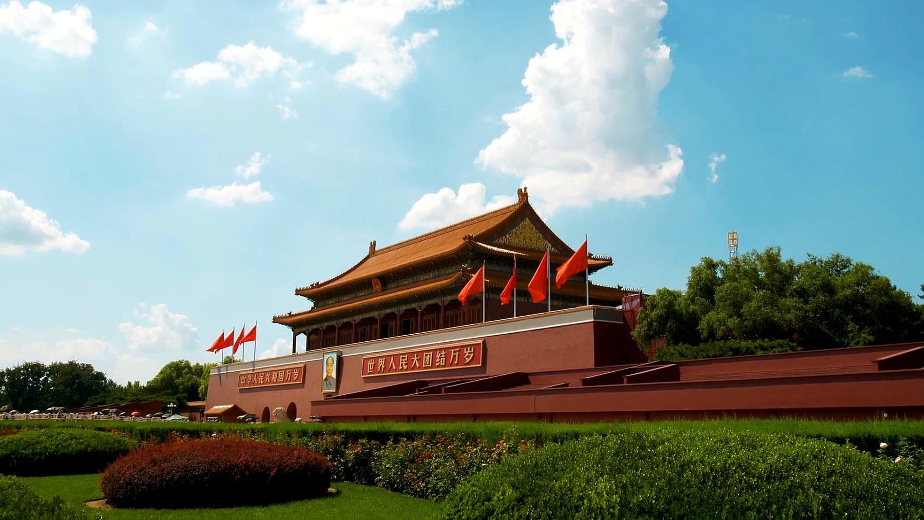 中国北京天安门