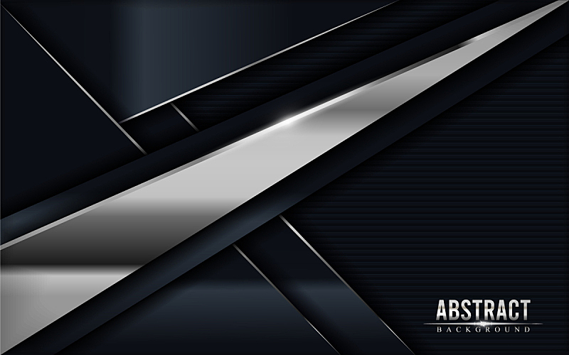 dark grey with silver lines luxury abstract