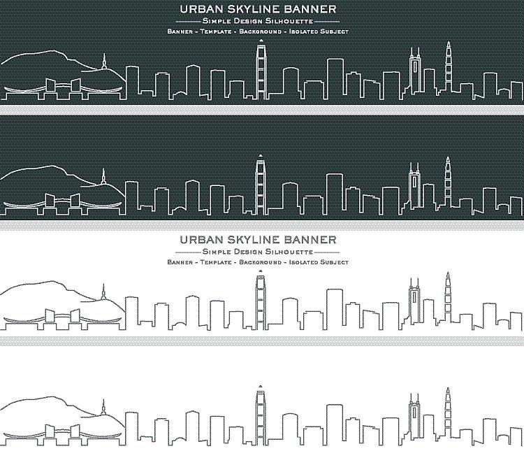 深圳,城市天际线,线条,白色,亚洲,商务,事件,暗色,艺术