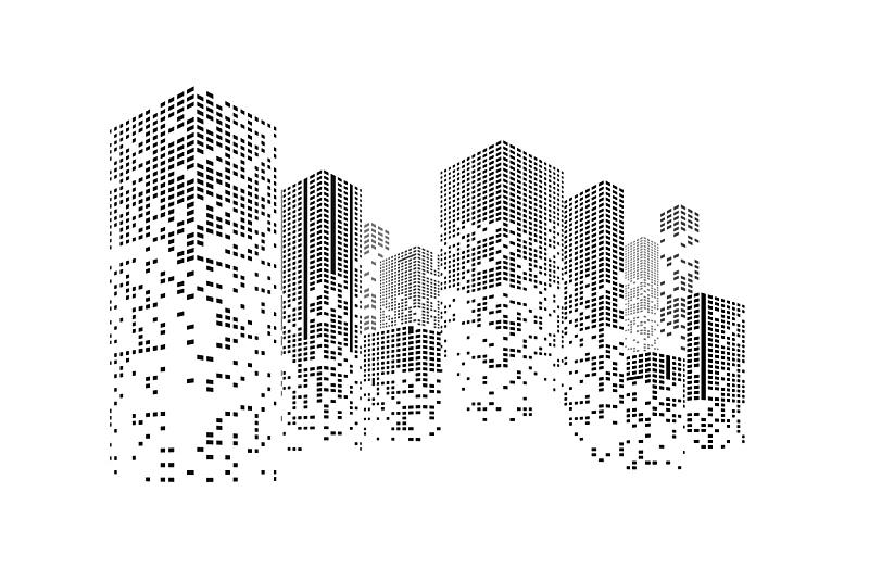 城市,建筑业,商务,计划书,曙暮光,直的,现代,建筑,都市风景,剪影