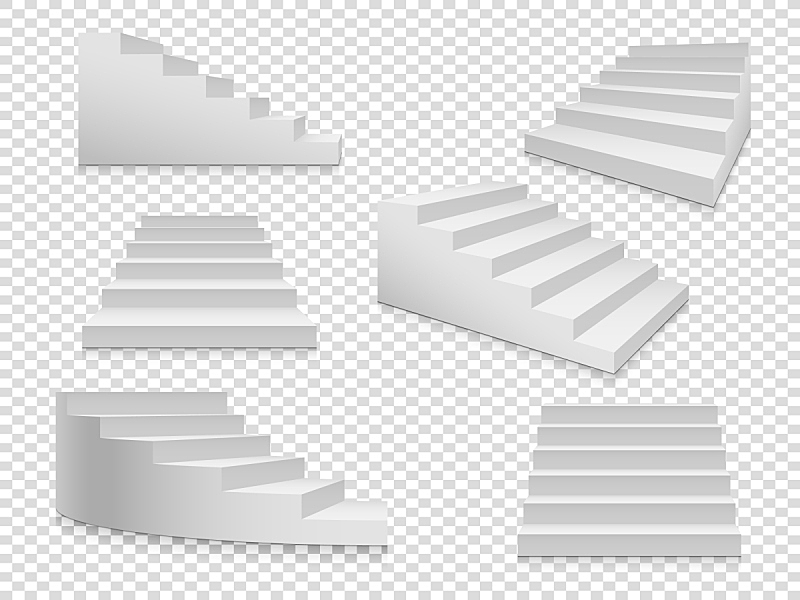梯子,三维图形,白色,分离着色,楼梯,台阶,舞台,商务,事件