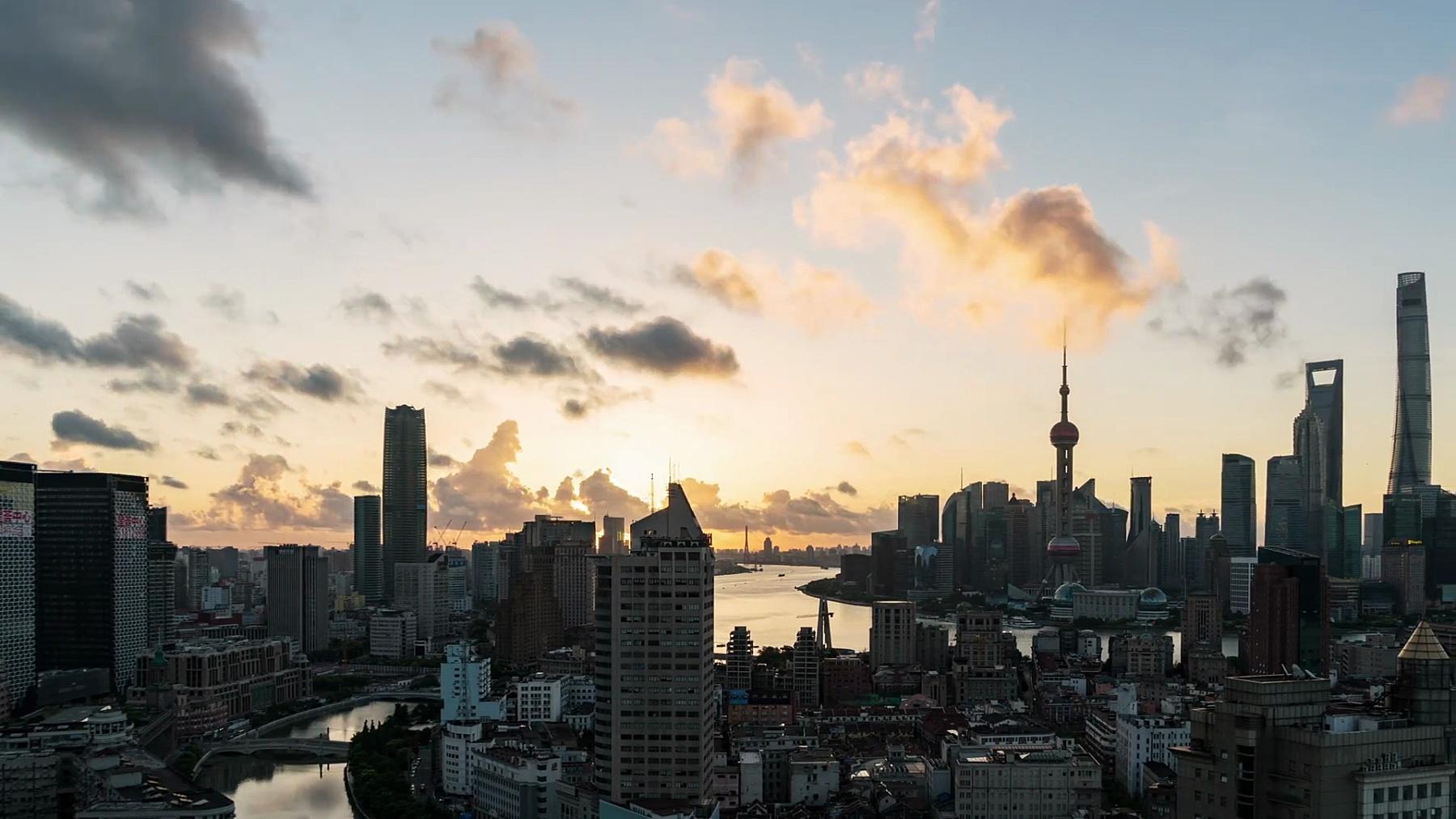 上海天际线