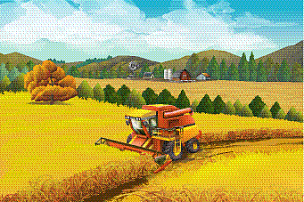 农场,地形,背景,农业,环境,云,草,自然美,燕麦,谷仓