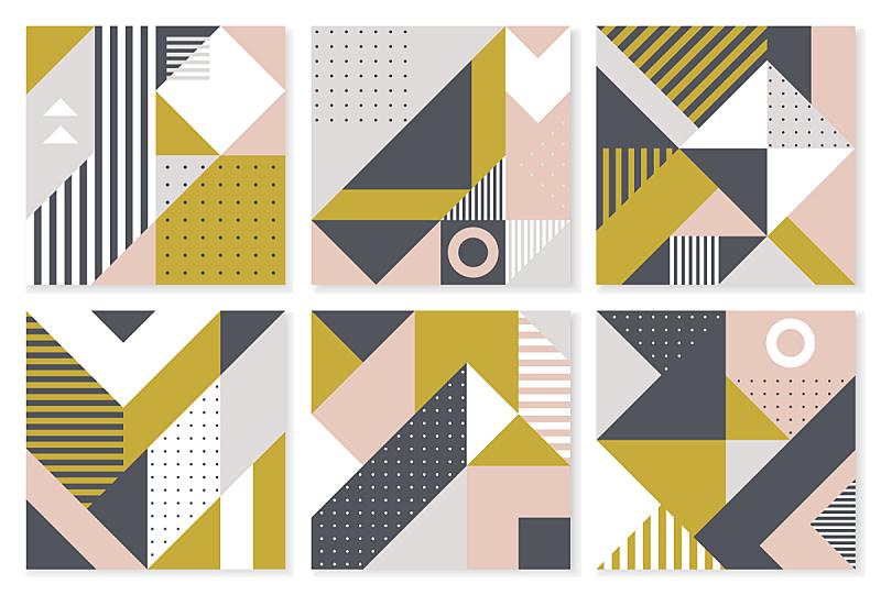 背景,几何形状,数字6,式样,时髦的,壁纸,几何学,彩色图片,活力,布置