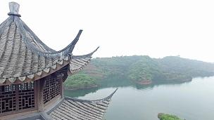 杭州千岛湖 景观鸟瞰