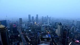 中国成都鸟瞰