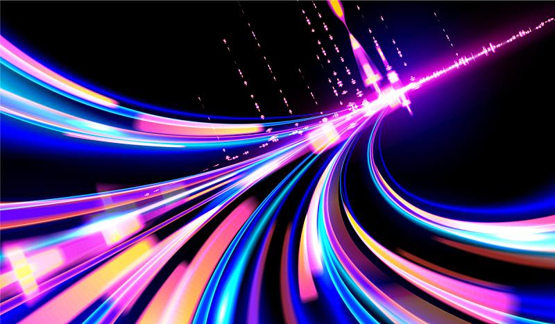 城市武士,星迹,汽车,光,未来,城市,迅速,图像特效,街道,活力