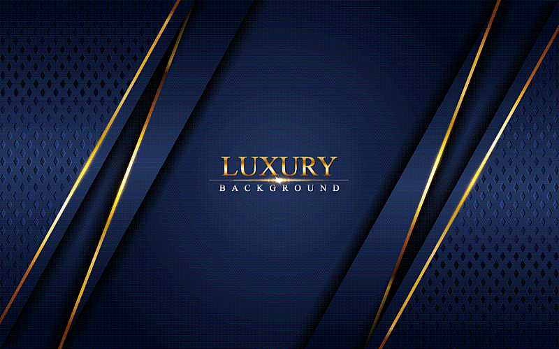 luxury navy blue background combine with glowing