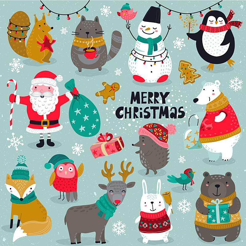 圣诞老公,雪人,创造力,可爱的,华丽的,杯,雪,收集,问候