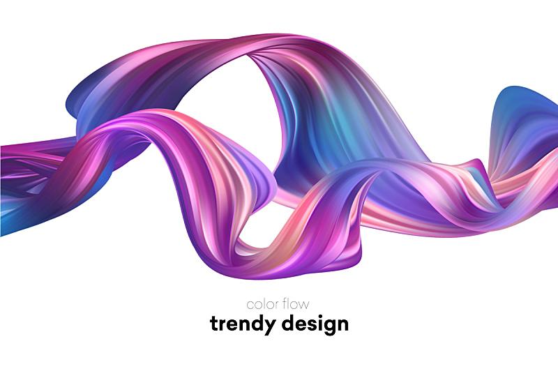 液体,形状,多色的,极简构图,波形,华丽的,信函,壁纸,流动