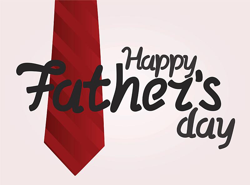 父亲节,贺卡,家庭,父母,父亲,白昼,红色,黑色,庆祝,尊敬