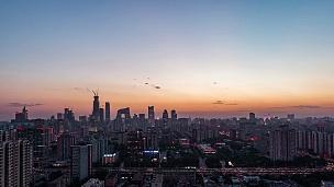 T/L WS ZI北京城市天际线(日夜配对)