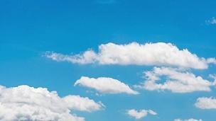 天空中的延时云,  VDO分辨率。