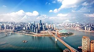 重庆智慧城市,延时摄影