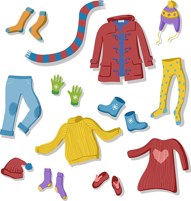 组物体,厚衣服,秋天,裤子,草图,户外,冬天,轮廓,时尚,收集