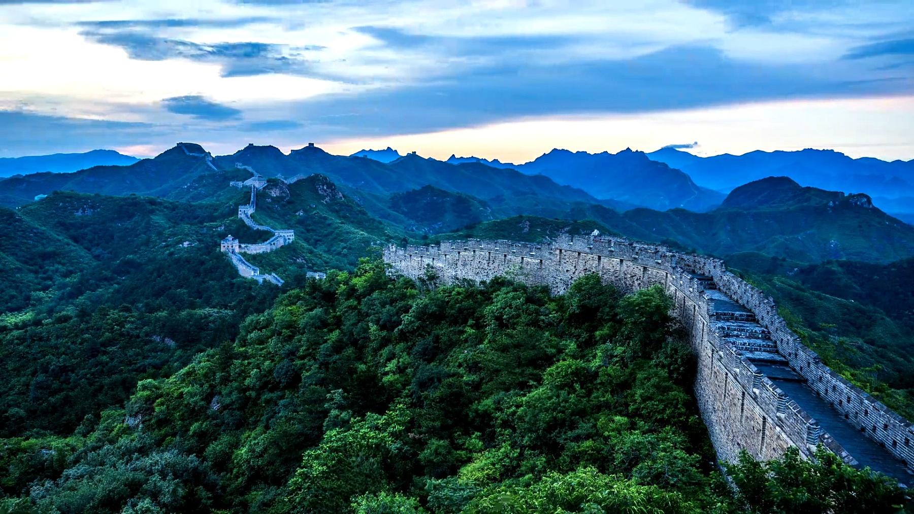 中国长城的延时
