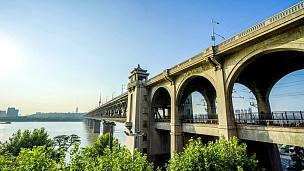 中国武汉长江大桥