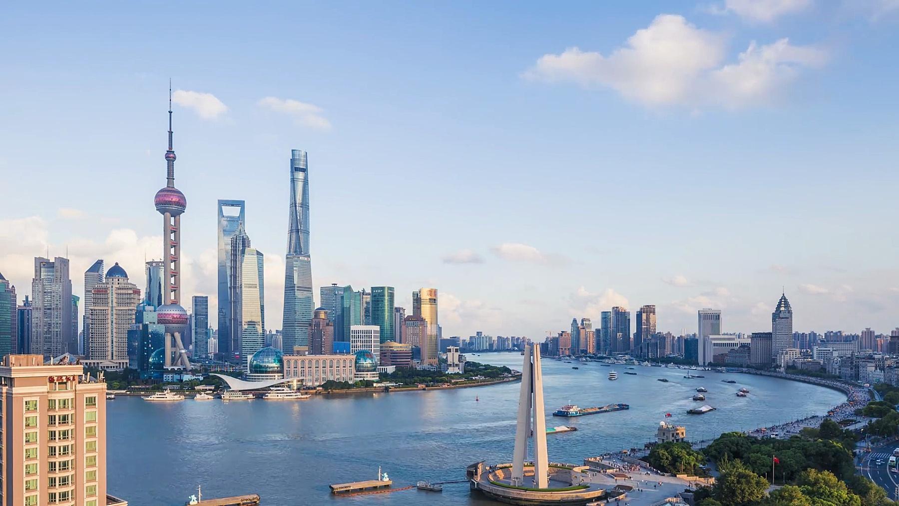 中国上海世界金融区