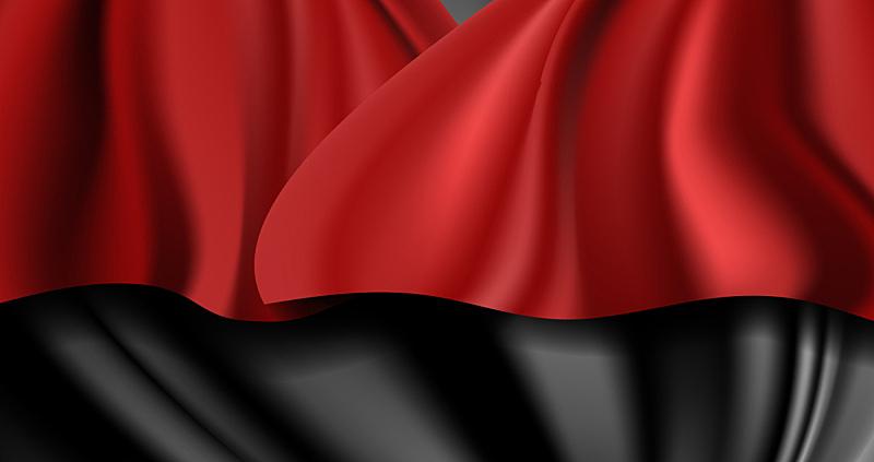 丝绸,纺织品,华贵,缎子,背景聚焦,红色,材料,窗帘,弯曲,行动