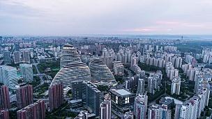 T/L WS HA北京市中心,日夜过渡/中国北京
