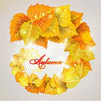 漩涡形,叶子,秋天,秋分,黄色,矢量,季节,黄金,树,发光