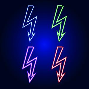 霓虹灯,红色,暗色,电,光亮,矢量,粉色,符号,绘画插图,蓝色