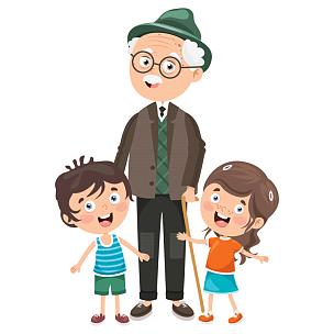 儿童,祖父母,小的,老年男人,家谱,丈夫,背景分离,家庭,父母,妻子