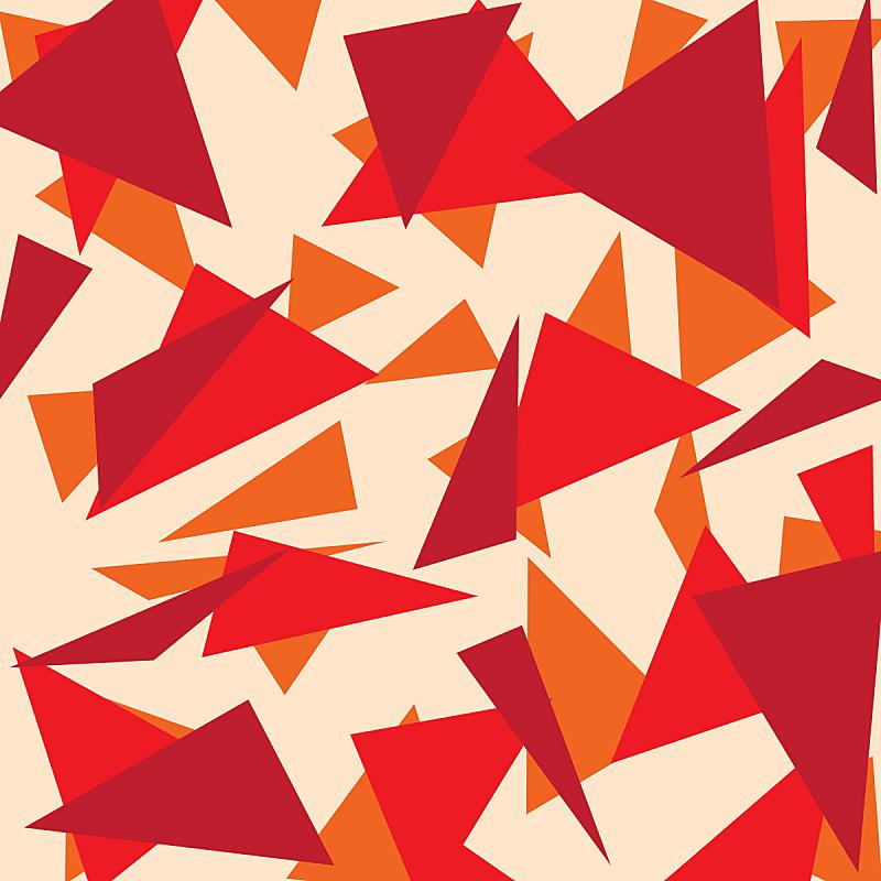三角形,抽象,背景聚焦,创造力,红色,几何形状,概念,图像,艺术,现代