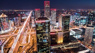 时间-北京的天际线