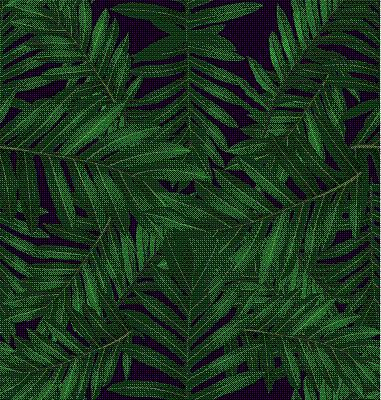 叶子,四方连续纹样,壁纸,背景,热带雨林,鸡尾酒,蕨类,自然,纺织品,重复