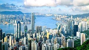 香港城市景观