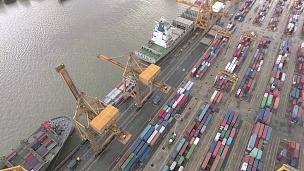 泰港集装箱码头鸟瞰