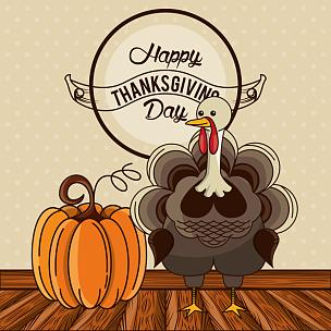 贺卡,火鸡,幸福,白昼,性格,蔬菜,十月,请柬,边框,传统节日